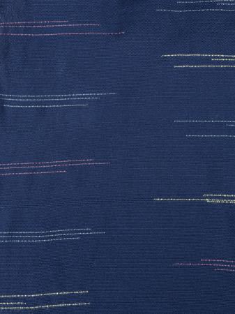 Japanese-inspired flecked indigo handwoven cloth